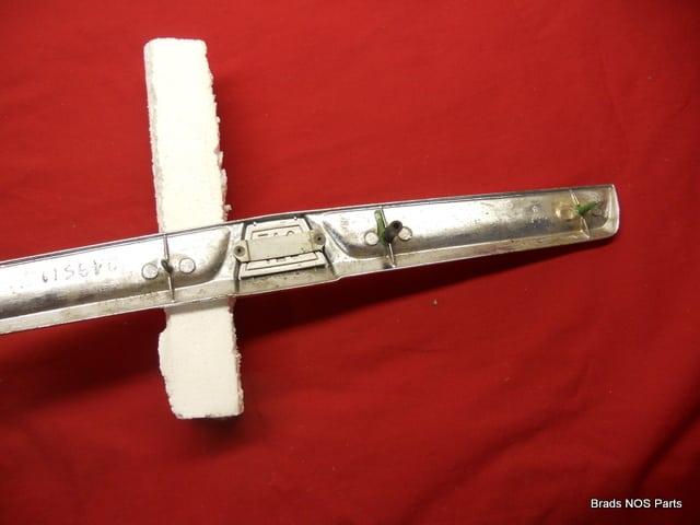 mopar 1964 dodge dart 170 hood front chrome ornament emblem pn 2495178 ebay. Black Bedroom Furniture Sets. Home Design Ideas